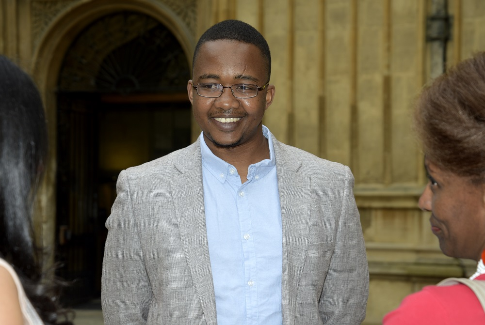 Shortlisted writer, Bongani Kona