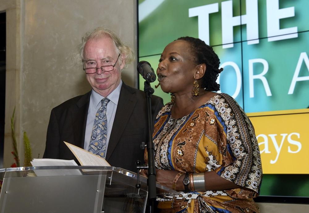 Jonathan Taylore & Deputy Chair Ellah Allfrey