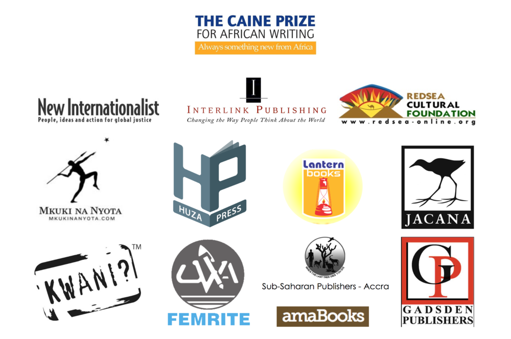 Caine Prize Co-publishers logo collage.png