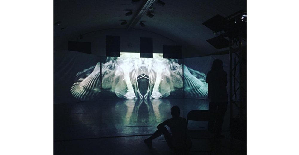 Foto: Karine Faou, produksjon: Human,  kompani: Plire Multi Dance og Tundra, danser: Nina Biong