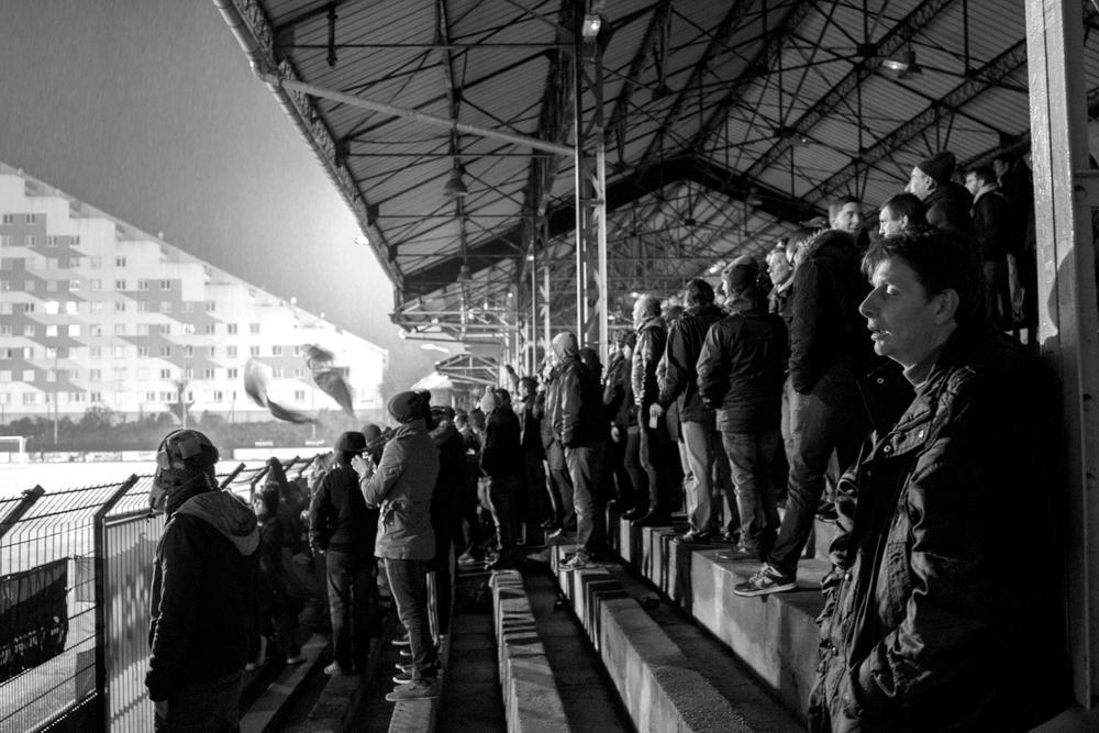 Red Star er det eneste alternativ til pengeklubben PSG, der ikke falder i alle pariseres smag.Foto: Hugo Cadena
