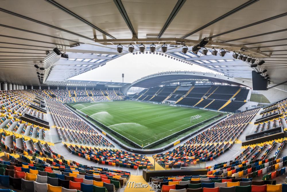 Udinese er færdige med opbygningen af det nye Friuli stadion, der er ejet af familien Pozzo.Photo: Matteo Favi/CC BY-SA 4.0