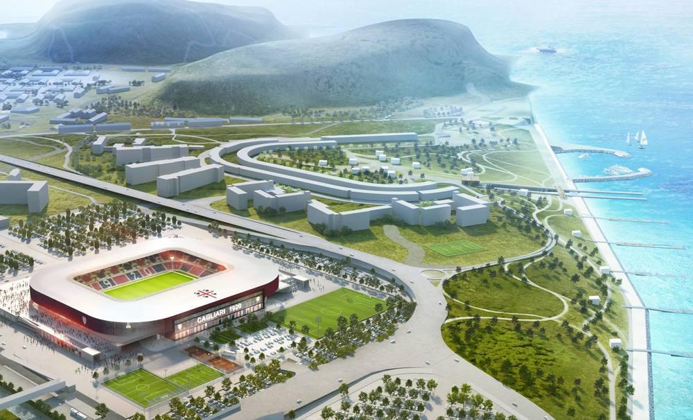 Cagliari er netop vendt hjem til Serie A, og Sardiniens fodboldstolthed har flere gode nyheder til deres fans. I forbindelse med klubbens 100 års jubilæum i 2019 flytter man ind på et nyt stadion.