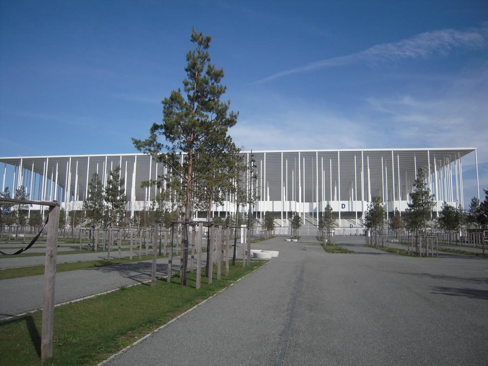 Det nye matmut Atlantique er EM-slutrundens smukkeste stadion og et vartegn for Bordeaux i det sydvestlige Frankrig. Foto: Flickr/patrick janicek/CC BY 2.0