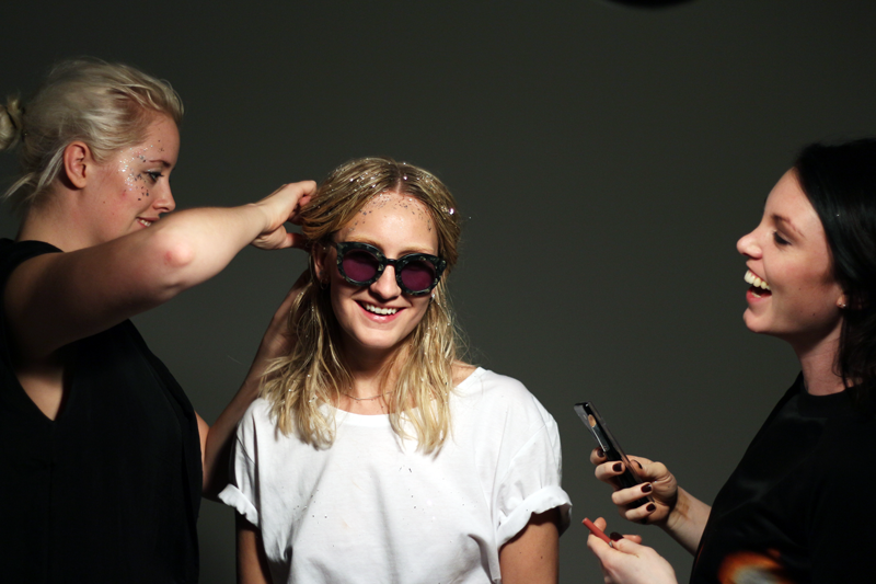 kaiboshco :     Shooting our SS14 Campaign with Øystein Grutle Haara, and having a good time with model Johanne, makeup-artist Tina Solberg and designer Torunn.     Shooting SS14 Campaign with the great eye-wear brand Kaibosh.