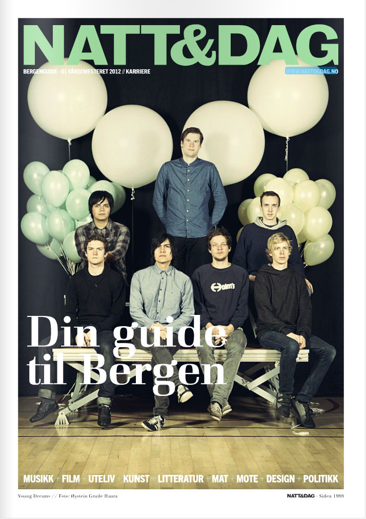 Young Dreams magazine cover # College guide for Bergen #