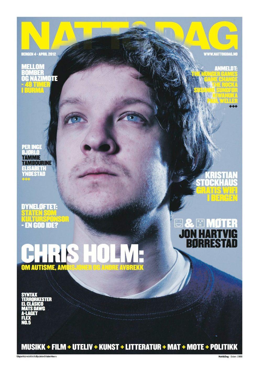 Got the April Cover in the norwegian magazine Natt og Dag ( Night and Day).