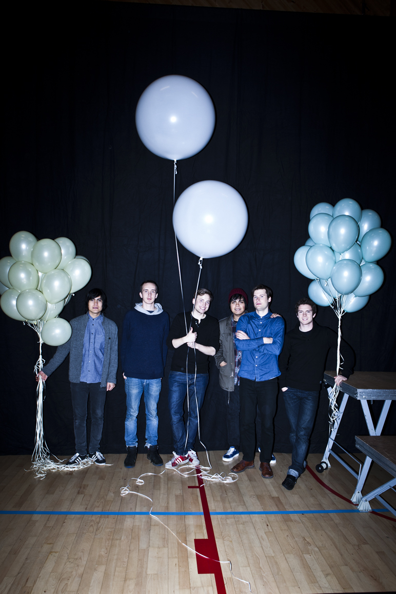 Team photo of me(in the middle) and some of the 14 band members from Young Dreams# Covershoot for magazine.   Check out their facebookpage and Like it!    http://www.facebook.com/youngdreamsband