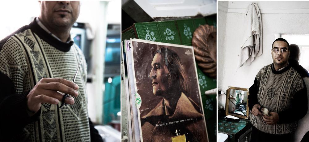 Documentary 09 # The Barber# Marocco.