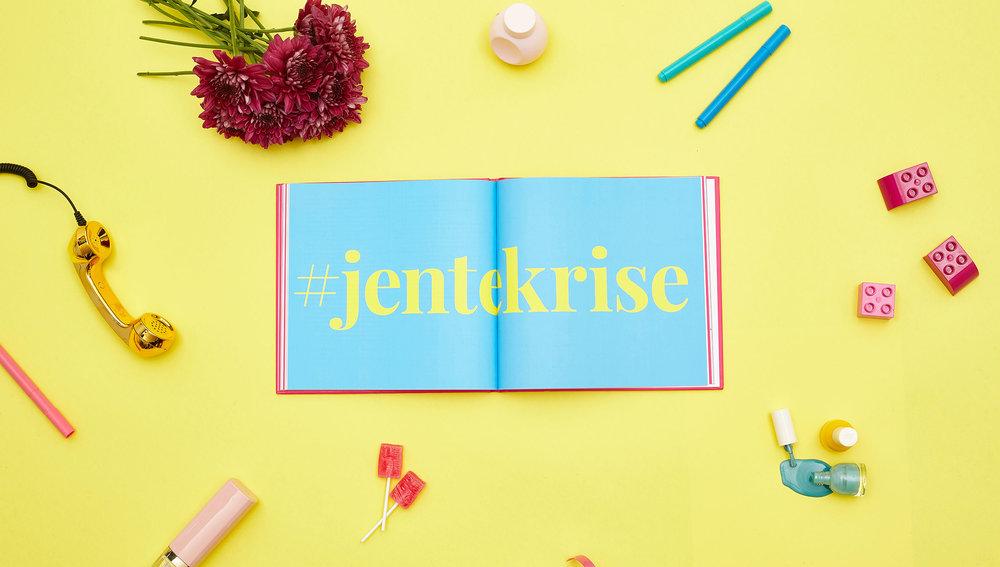 """Book """"Jentekrise"""" - Reklamekollektivet"""