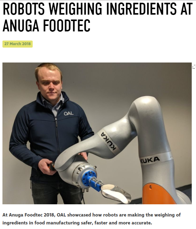 Missed us at Anuga Food Tec? Find out what we were showcasing here...