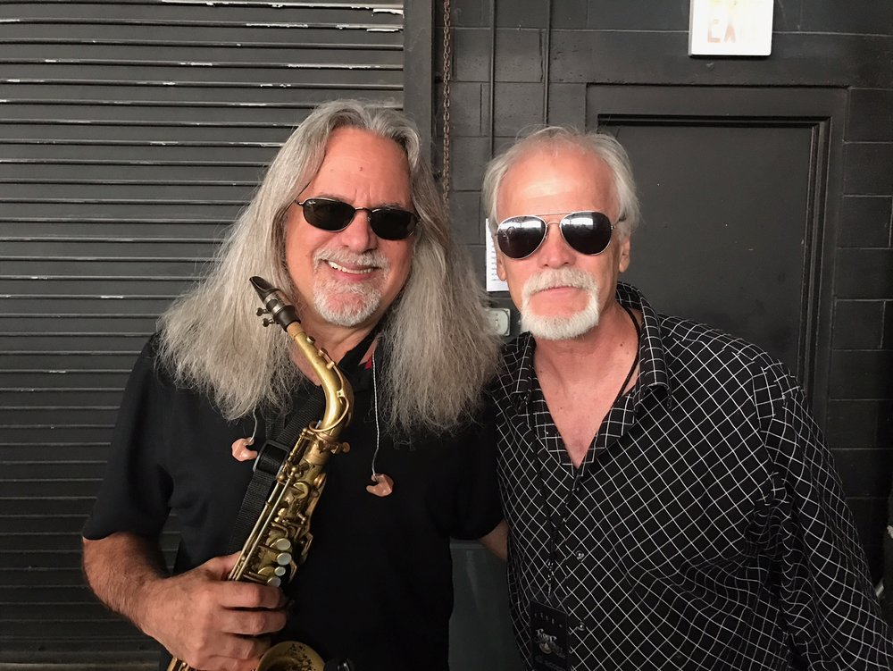Fellow sax legend Mark Russo