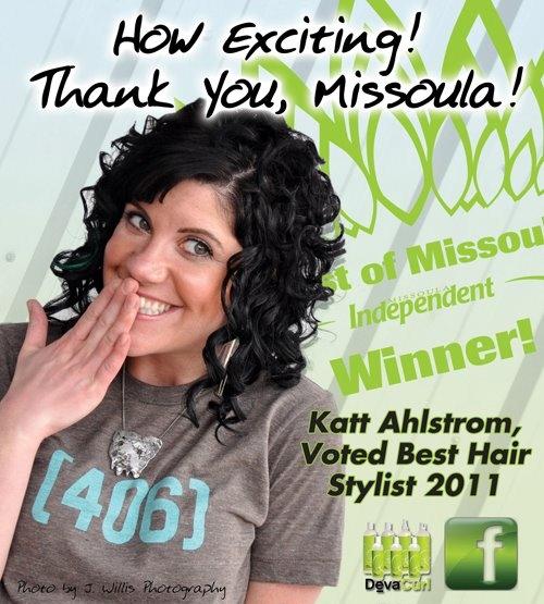 Voted Best Hairstylist, 2011.