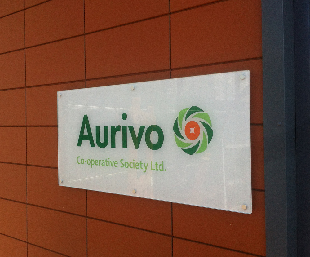 Connacht Gold Aurivo Brand mark Brand identity Logo design