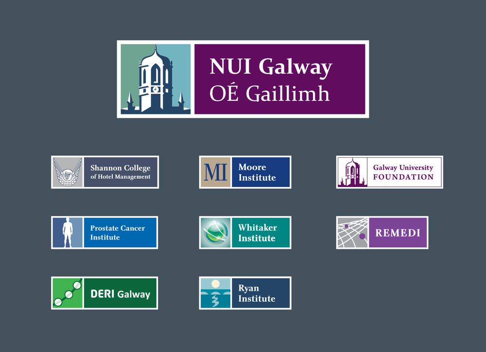 NUI Galway brand, university brand, brand architecture, sub brands, house of brands, master brand, brand consultant, Martin Crotty, BFK brand