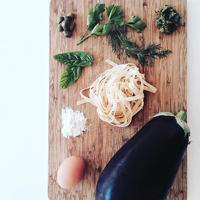 Have you tried our #glutenfree fresh tagliatelle yet? It's delicious with aubergine pesto: roast aubergines blended with capers, parsley, mint & dill 👌 #food #foodlover #foodinsta #foodpics #foodstagram #foodie #glutenfreelife #glutenfreedom #glutenfreefoodie #glutenfreefood #glutenfreelondon #glutenfreelifestyle #glutenfreepasta #aubergine #londonfood #londonfoodie #londoneats #epicurious