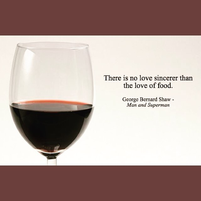 Happy #WorldPoetryDay! When good food is made with love, and ingredients are transformed into something special, it becomes part of the poetry of life 🍷🍇 #food #foodstagram #foodlover #georgebernardshaw #quote #quotesofinstagram #quotestoliveby #quotesdaily #foodquote #quotesgram