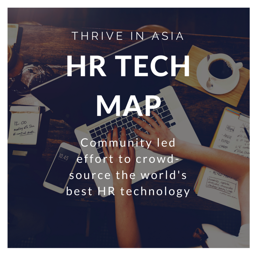Thrive In Asia HR Tech Map