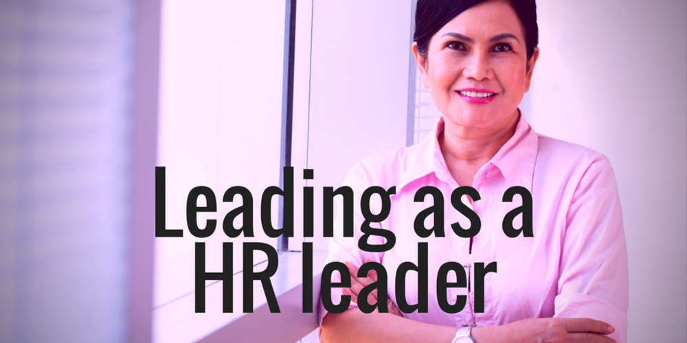 Leading as a HR Leader