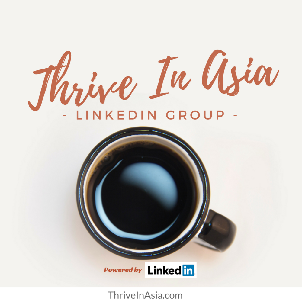 Thrive In Asia LinkedIn Group