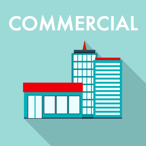 Look after your commercial property with our assistance.