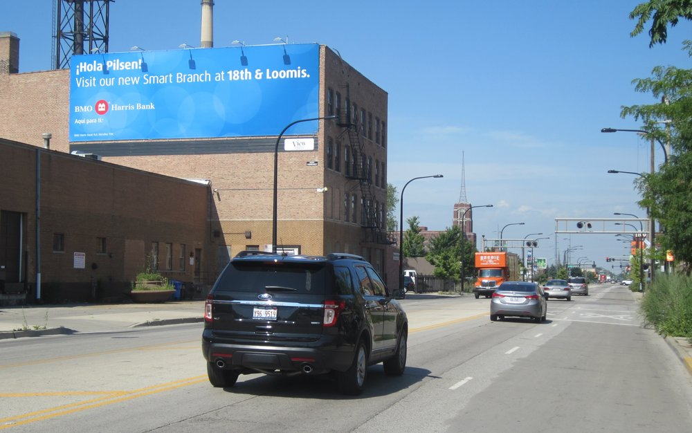 Know Your Neighborhood (and your neighborhood will know you)  - Chicago is a City of distinct neighborhoods.  People tend to identify with their neighborhoods and the businesses in it.  Associating your brand and business with the audience your trying to reach can go a long way in outdoor advertising.