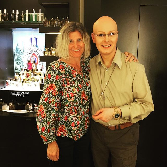 @place_vendome_haute_parfumerie  Thank you David. We were all spellbound yesterday.