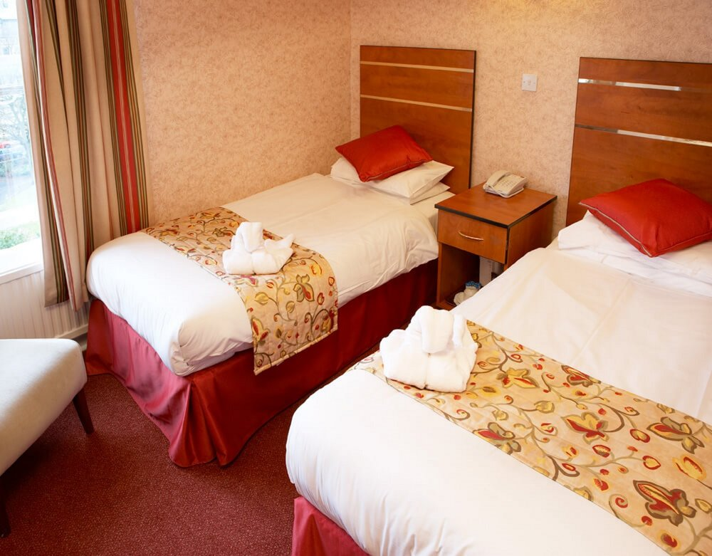 Copy of Triple room at the Red Lea Hotel, Scarborough
