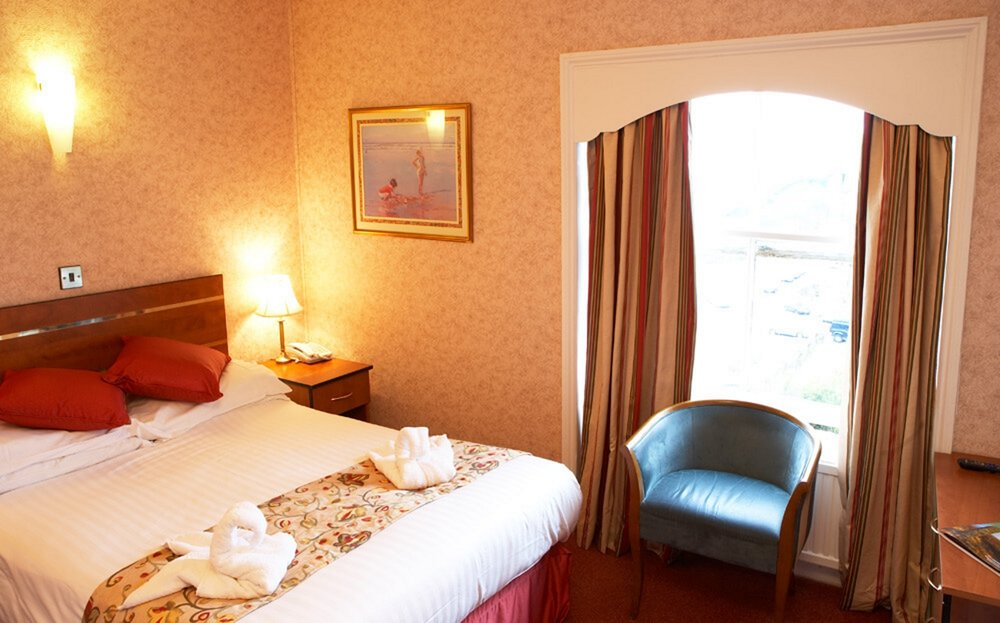 Double room at the Red Lea Hotel, Scarborough
