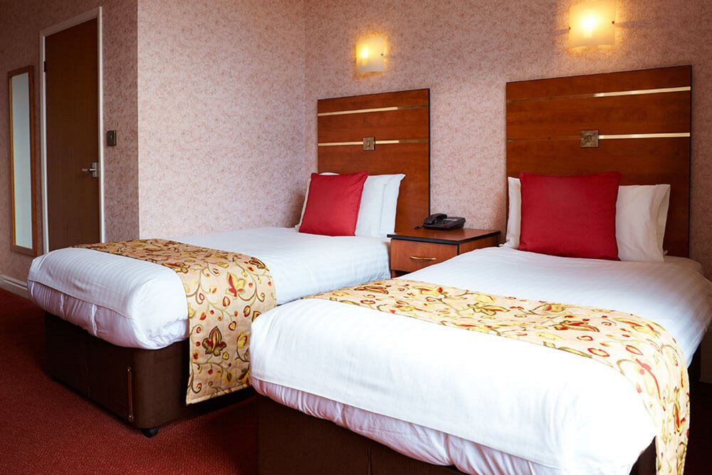 Triple room in the Red Lea Hotel, Scarborough