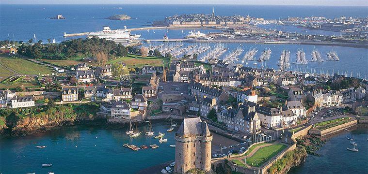 St Malo Port