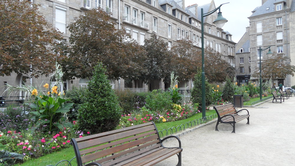 Park in St Malo