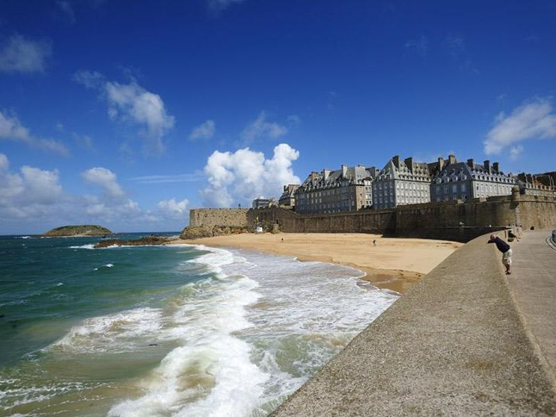 Beach at Intra-Muros St Malo