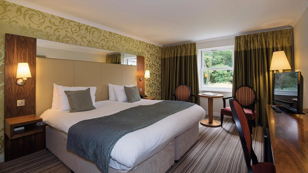 Signature double/twin room at Nidd Hall