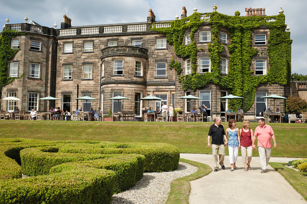 Exterior view of Nidd Hall Hotel