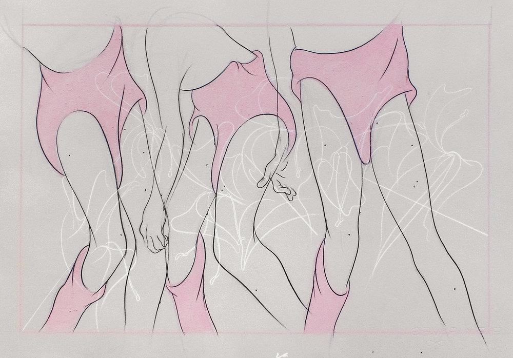 """""""Figure in Honeysuckle Thicket II"""""""