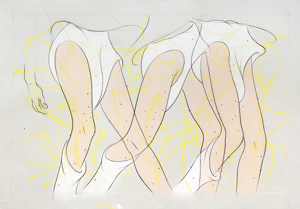 """""""Figure in Honeysuckle Thicket III"""""""