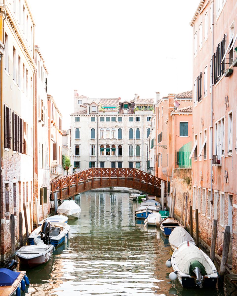 Peach Canal Venice Italy -1.jpg