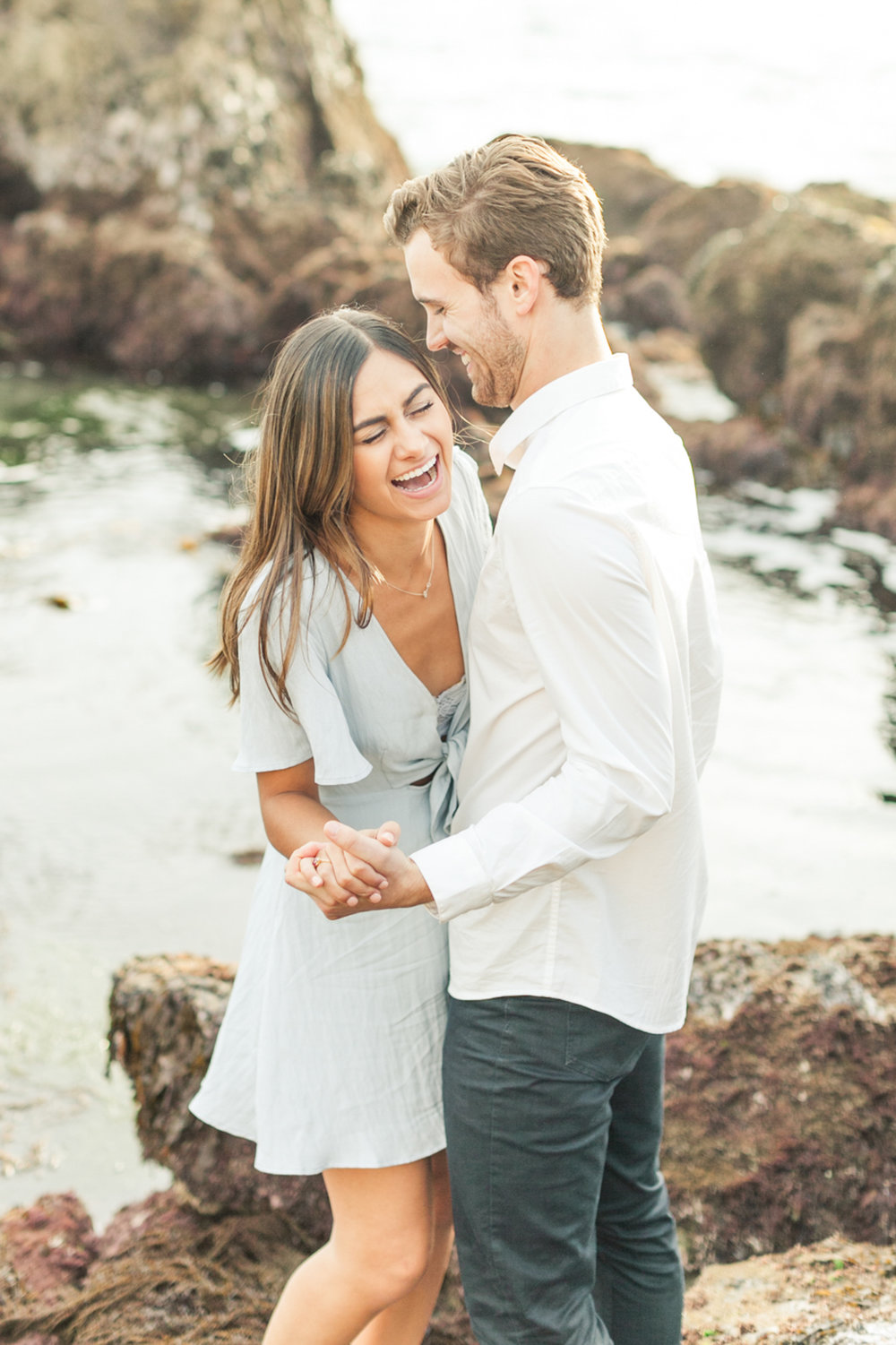 You might be worried that your engagement session will be stressful and awkward and you aren't alone. Most people feel like this and that's because most couples are believing 3 giant lies about engagement sessions.