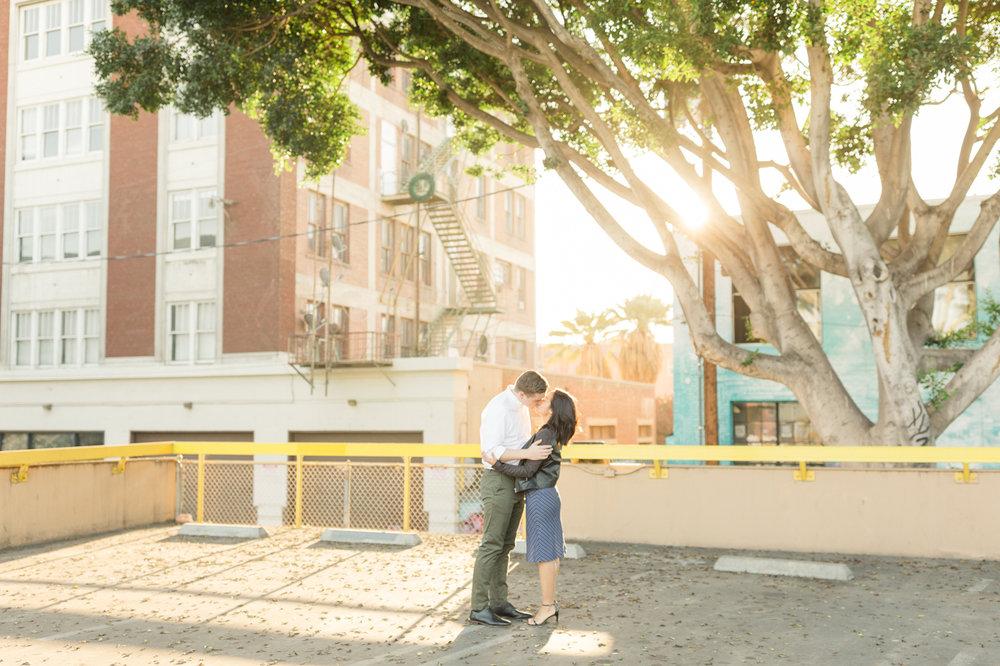DTLA Engagement Session - Christa Norman Photography - Destination Wedding Photographer-4.jpg