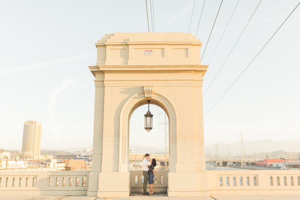 DTLA Engagement Session - Christa Norman Photography - Destination Wedding Photographer-8.jpg