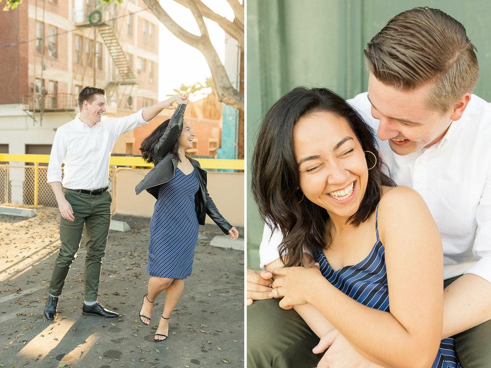 DTLA Engagement Session - Christa Norman Photography - Destination Wedding Photographer-29.jpg