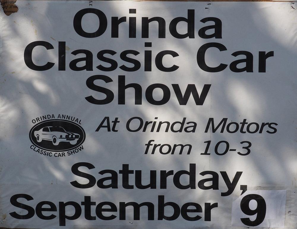 Orinda Classic Car Show