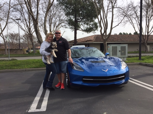 Bob and Cheri - 2014 Laguna Blue Stingray
