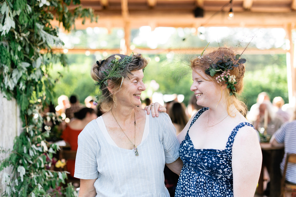 Lady Farmer Mother - Daughter Duo: Mary (Left) and Emma (Right) // Photo by: Rachel Lyn Photography