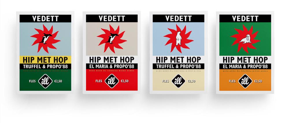 ill x Vedett posters