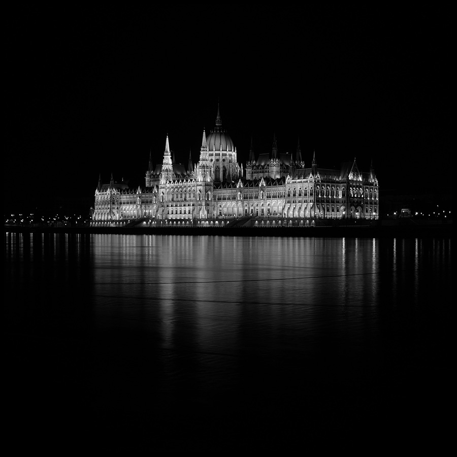 View of the Hungarian Parliament Building, the world's third largest Parliament building. This is one of the most beautiful attractions in Budapest. Either by day or night it is incredible.