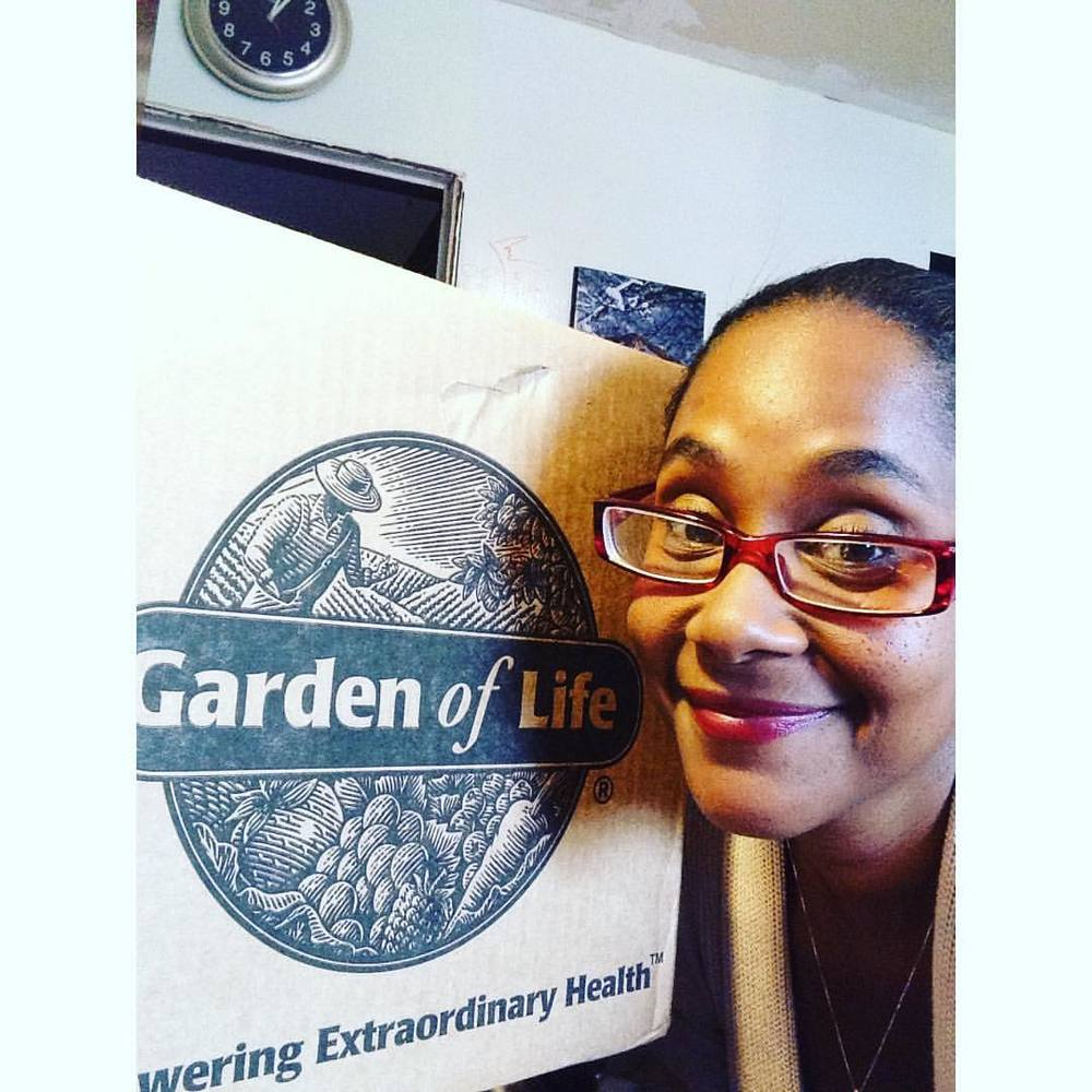 I was soooooo excited. #gardenoflife #delivery #nyc
