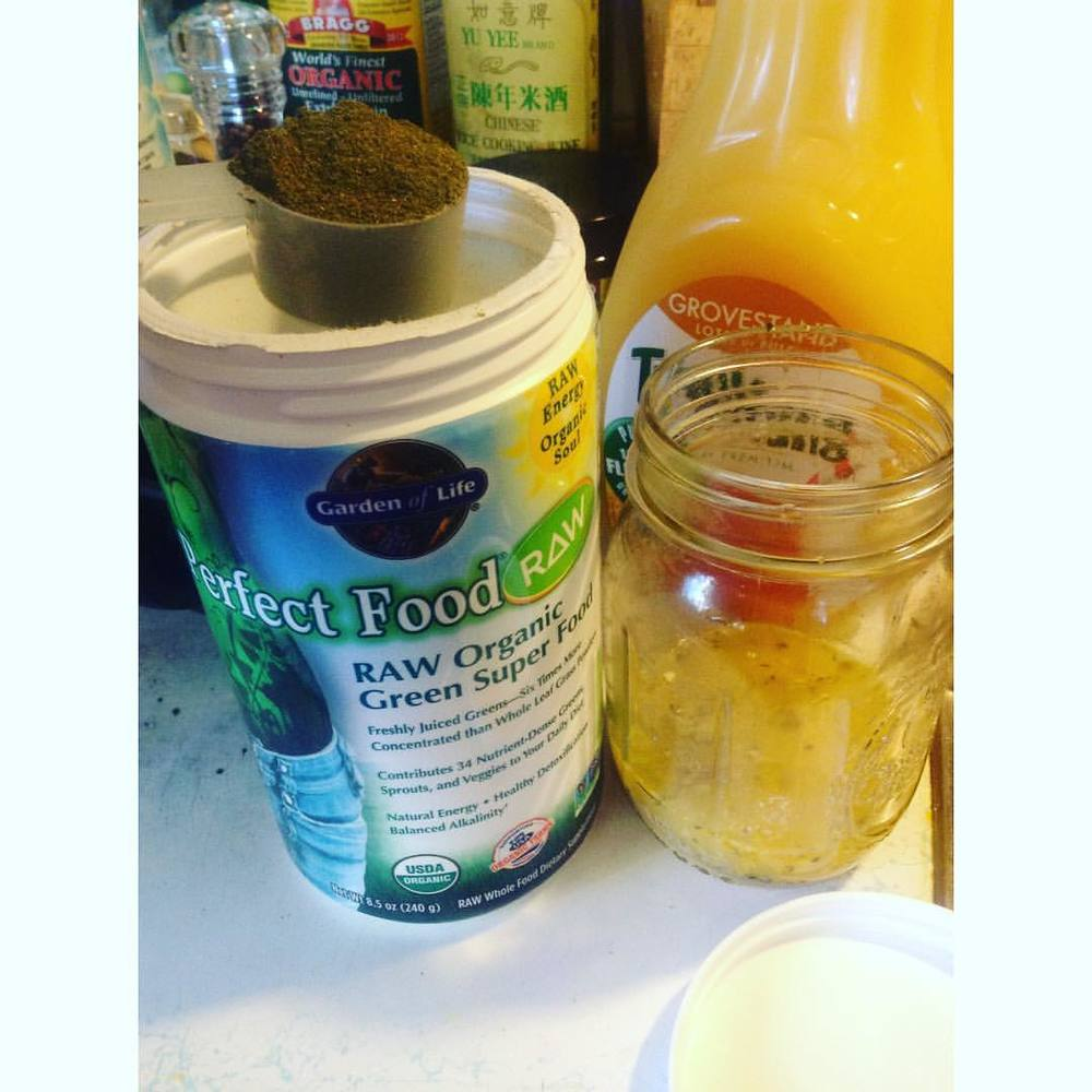 Every morning because I'm driven to health. #gardenoflife #perfectfood #raw #health #nutrition