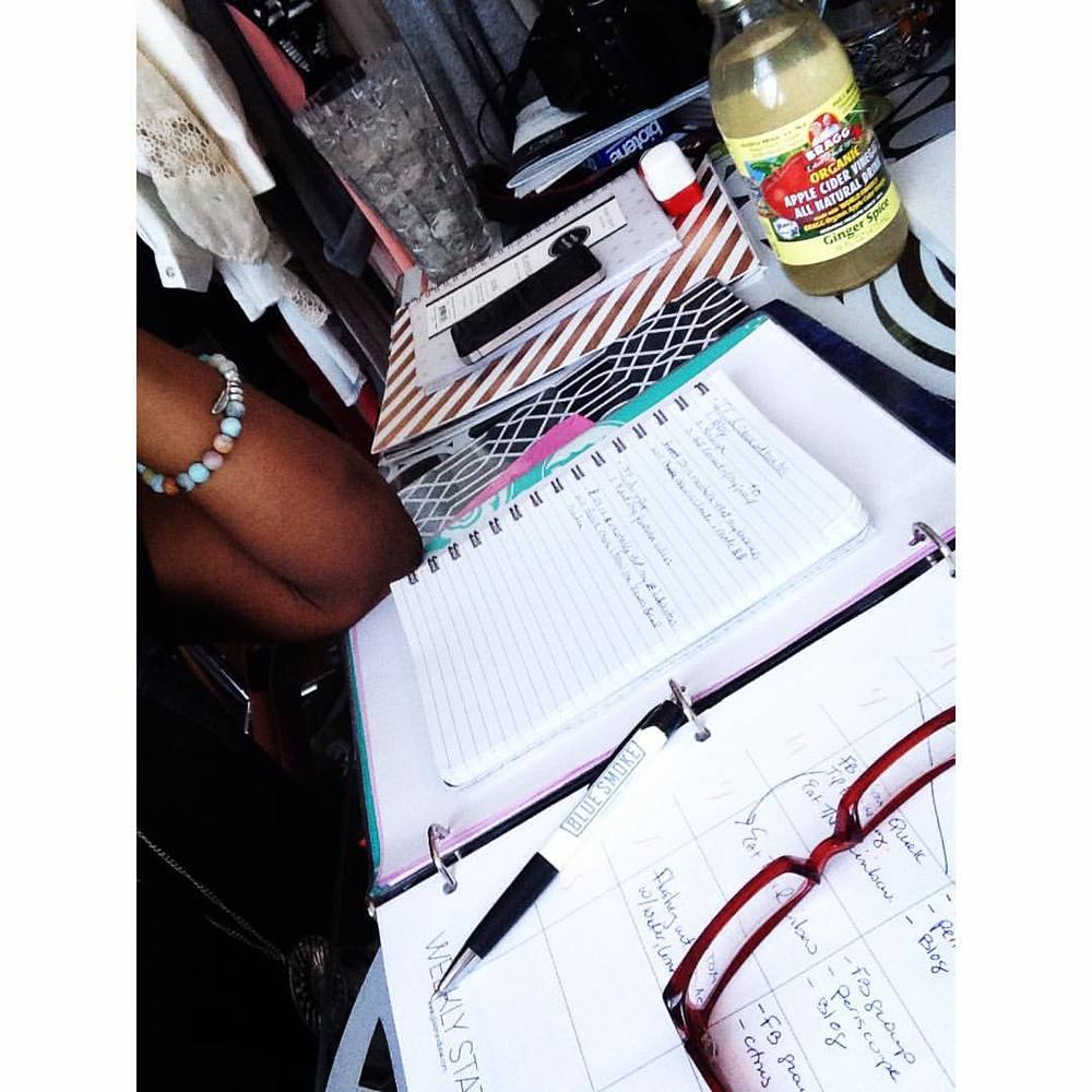 A little work flow today with my #Bragg #applecidervinegar #ginger #spice in #nyc #bronx